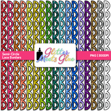 Semi-Circle Lace Border Clip Art {Dividers & Page Elements