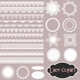 Lace Doily Clip Art Lace Frame Lace Border Element White L