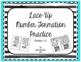 Lace-Up Number Formation Practice