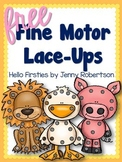 Lace Ups for Fine Motor Skills