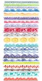 Lace Watercolor Borders Clip Art