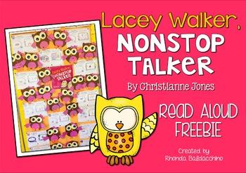 Lacey Walker Nonstop Talker ~Back to School FREEBIE~