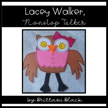 Lacey Walker, Nonstop Talker~ Craft and Writing