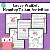 Lacey Walker, Nonstop Talker Writing Activities