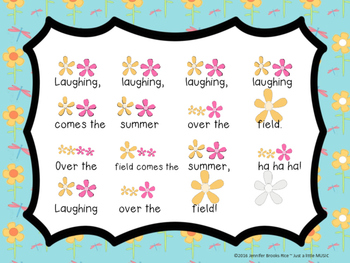 Lachen (Laugh)--A Folk Song w/ Orff Instrument Accompaniment for sixteenth notes