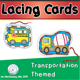 Lacing Cards for preschool and pre-k to practice fine moto