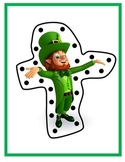 Lacing Cards: St. Patrick's Day, Fine Motor