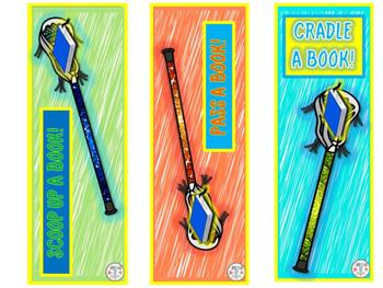 Lacrosse Bookmarks