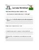 Lacrosse Handout and Worksheet
