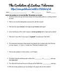 Lactase Persistence Video Worksheet - HHMI BioInteractive
