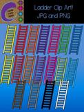 Ladder Clip Art  Colors Images