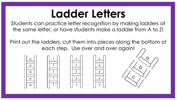Ladder Letters
