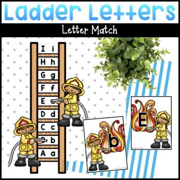 Ladder Rescue Alphabet Game