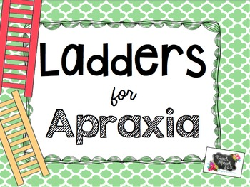 Ladders for Apraxia - Blends