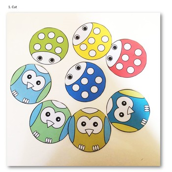 Lady Beetle and Owl Craft Freebie