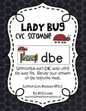 Lady Bug CVC Scramble
