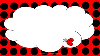 Lady Bug Cover Page