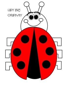 Lady Bug Craftivity