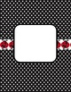 Lady Bug Editable Binder Covers, Spines, Letterhead, Notecards and More