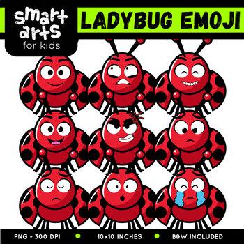 Lady Bug Emoji Clip Art