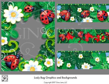 Lady Bug Graphics