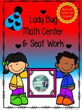 Lady Bug Math Center