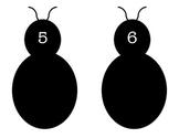 Lady Bug Number Bond Practice