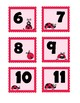 Lady Bug Number Match (0-20) - match numbers to number words