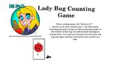 Preschool Lady Bug Counting Game