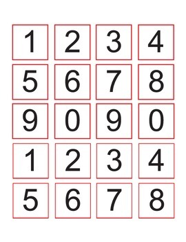 Lady Bug Place Value Mat (Tens and Ones)