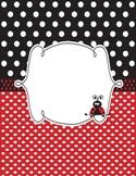 Lady Bug Teacher Planner/Binder Combo