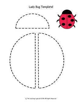 Lady Bug Template!