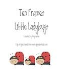 Lady Bug Ten Frames