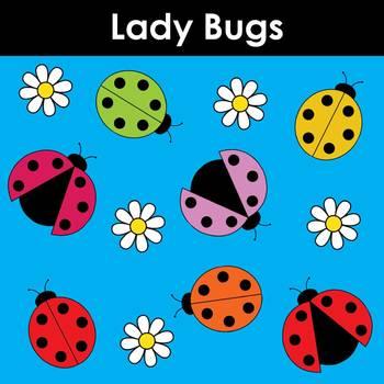 Lady Bugs Clip Art