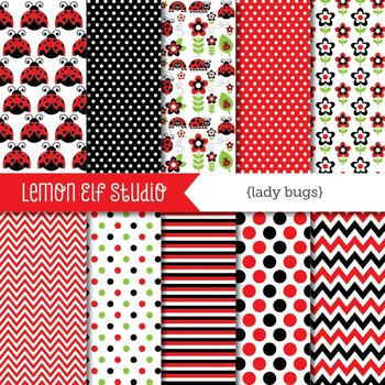 Lady Bugs-Digital Paper (LES.DP09A)