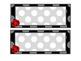Ladybugs and Polka Dots Calendar Set with Name Plates and