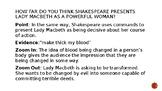 Lady Macbeth Model PEZZ Paragraph
