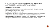Lady Macbeth Model SPEED Paragraph