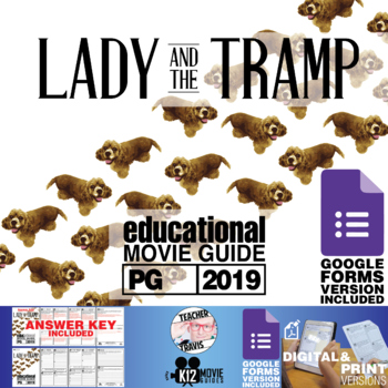 Lady and the Tramp Movie Guide | Questions | Worksheet (PG - 2019)