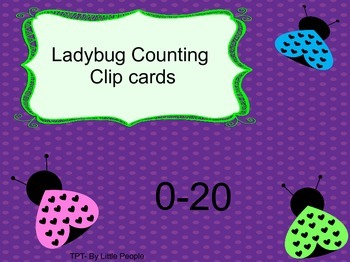 Lady bug Count and Clip