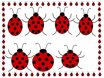 Lady bug clip-art and frames