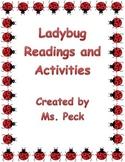 Lady bug pack