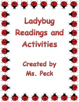 Lady bug pack