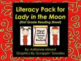 UPDATED! Lady in the Moon Literacy Pack for First Grade Fo
