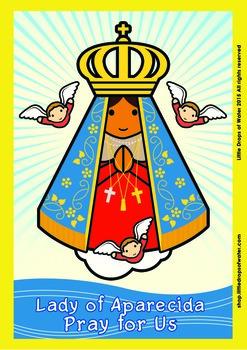 Lady of Aparecida Poster - Catholic