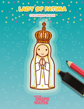 Lady of Fatima Coloring - Catholic
