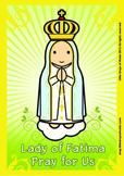 Lady of Fatima Poster - Catholic