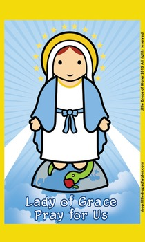 Lady of Grace Flash Card