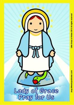 Lady of Grace Poster - Catholic