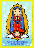 Lady of Guadalupe Poster - Catholic